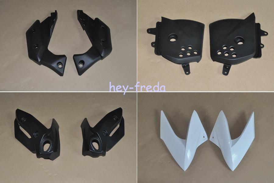 abs injection carrosserie car nage pour yamaha xj6 2009 2012 09 10 11 12 ebay. Black Bedroom Furniture Sets. Home Design Ideas
