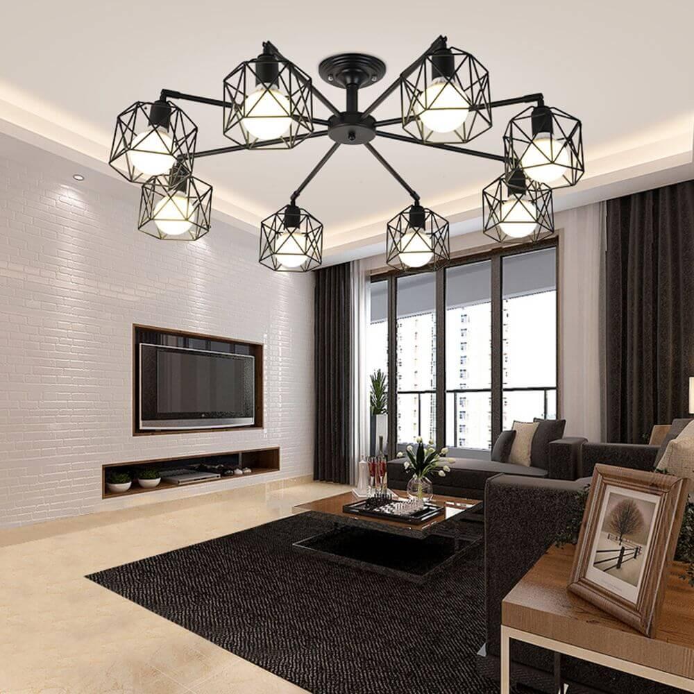 8-lights-chandelier-living-room-ceiling-lamp