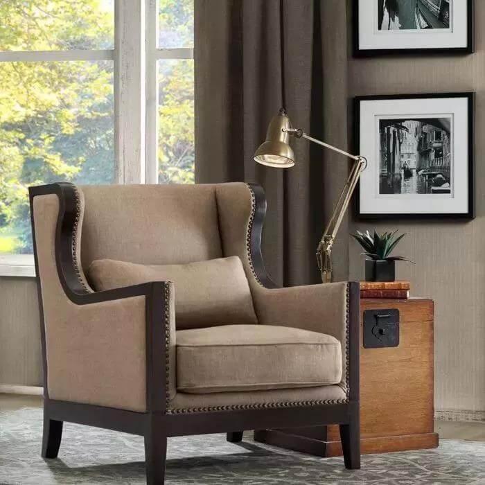 Single-sofa-reading-light