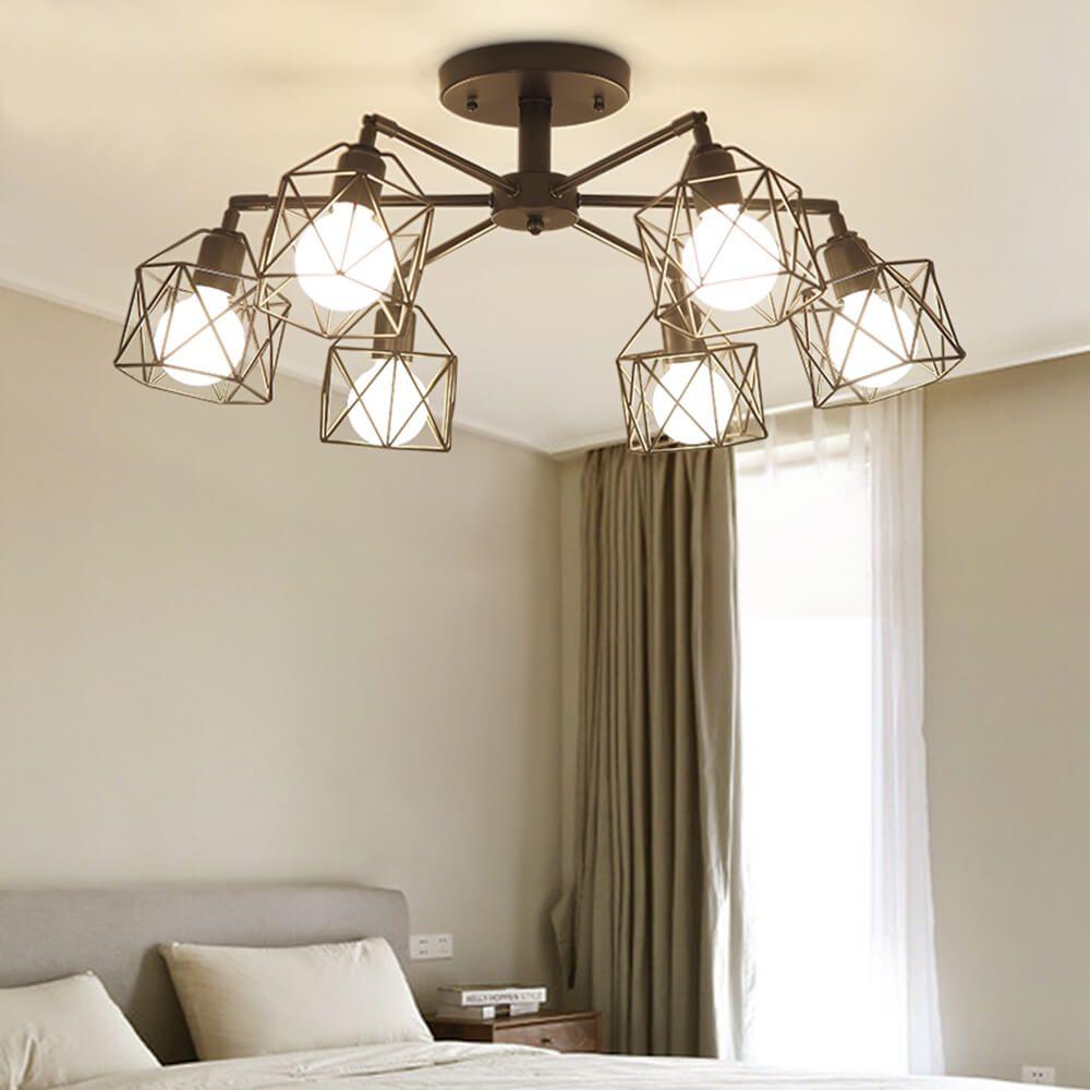 6-lights-industrial-ceiling-light-bedroom-lamp