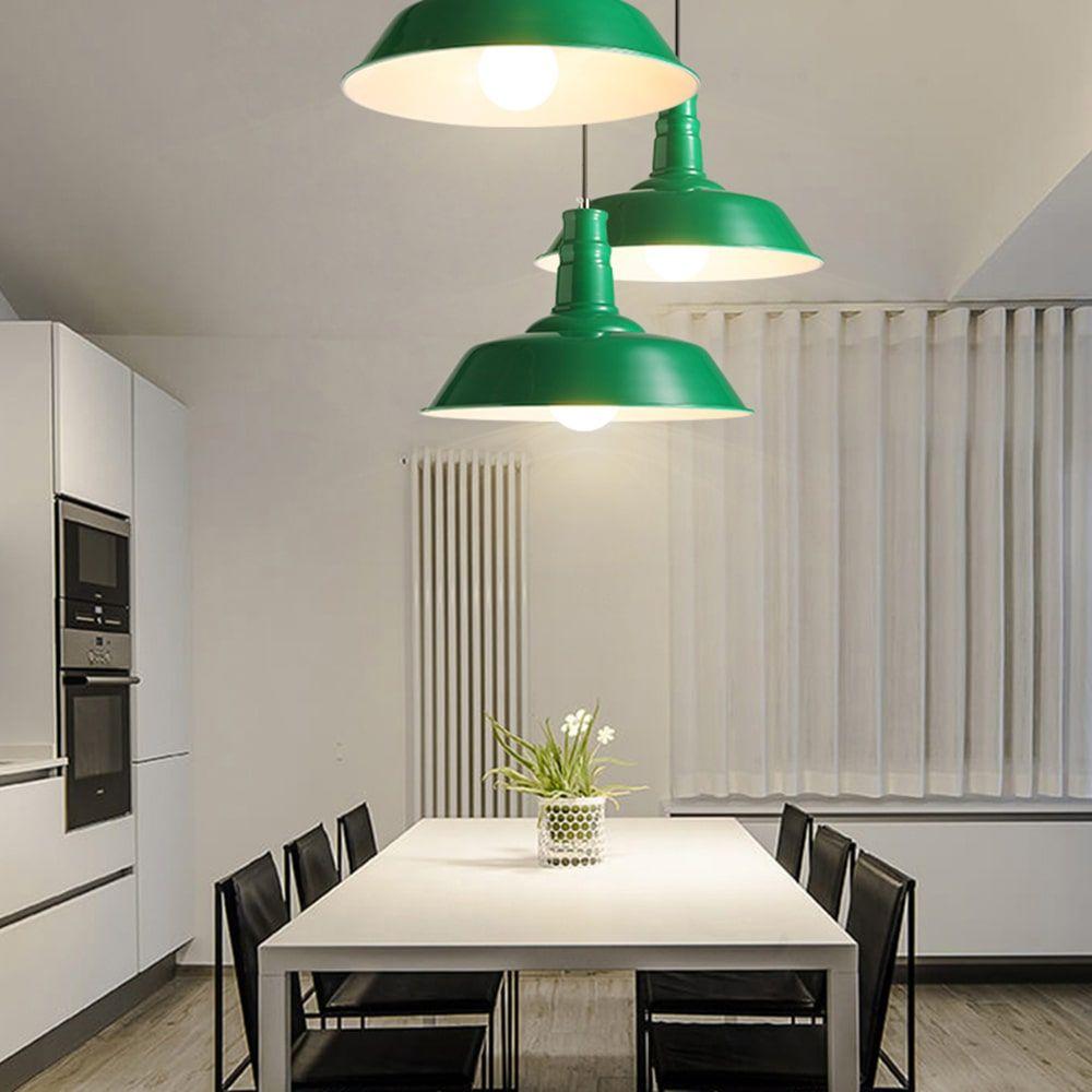 green-industrial-pendant-lamp-kitchen-lighting