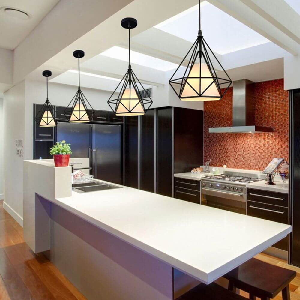 kitchen-lighting-industrial-pendant-light