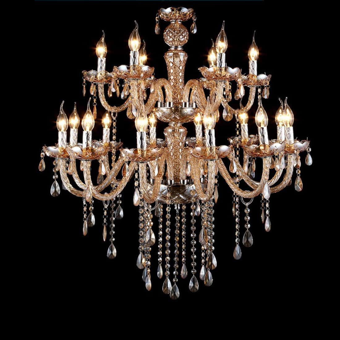 luxury-pendant-light-candle-chandelier