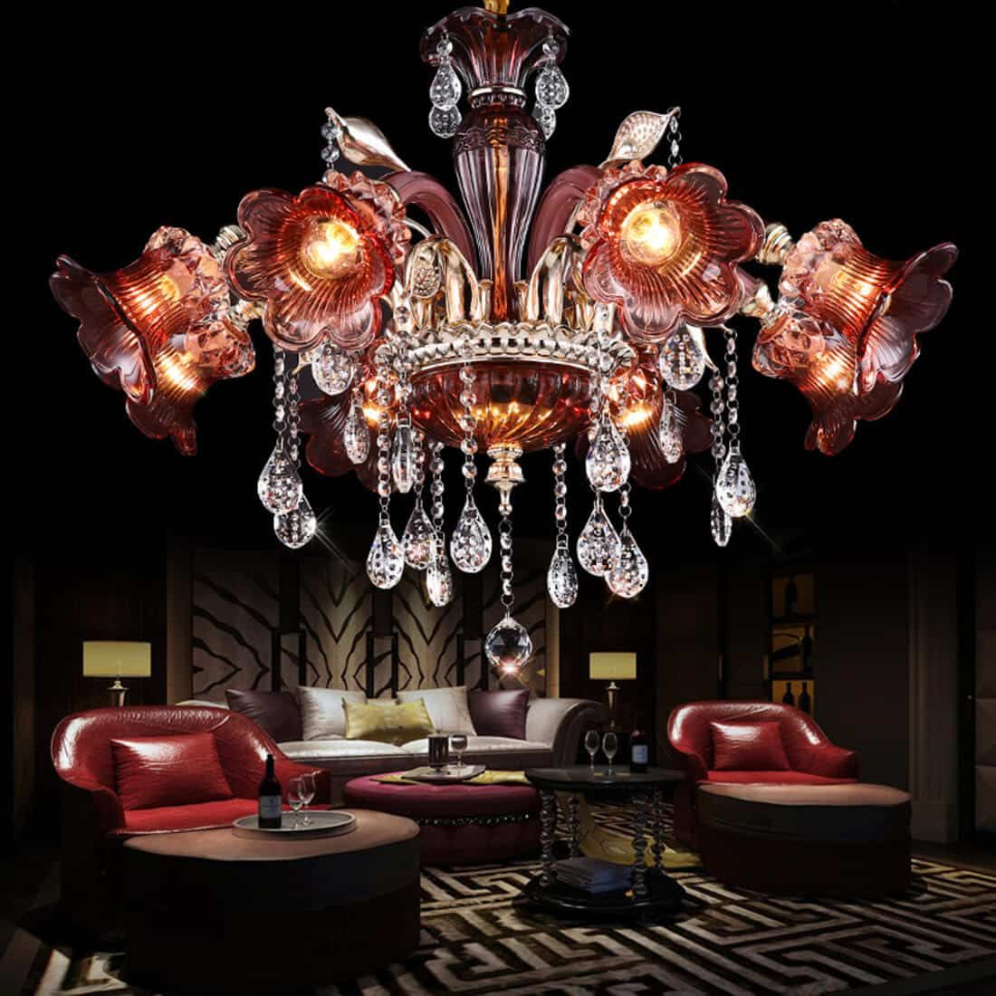 luxury-living-room-pendant-lighting