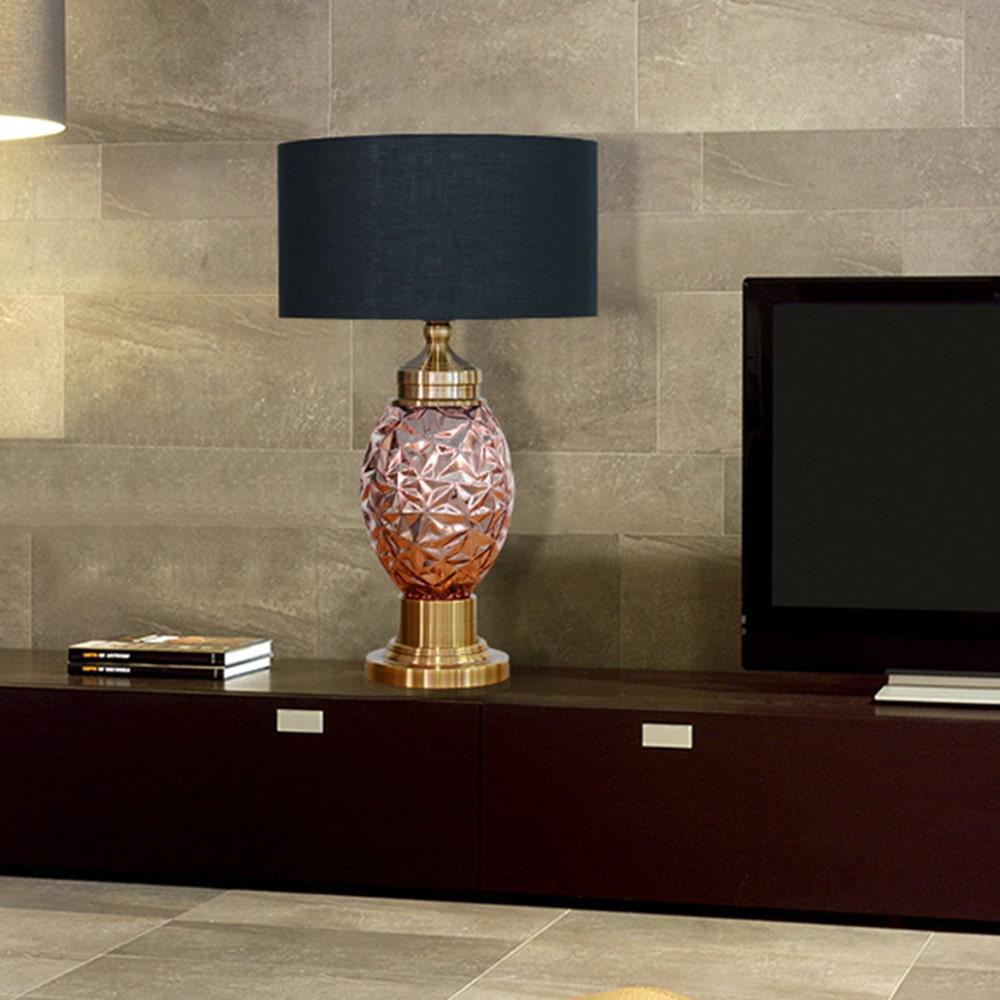 rose-gold-desk-light-black-cloth-lampshade